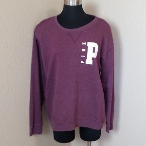 Pink Victorias Secret Purple Sweatshirt